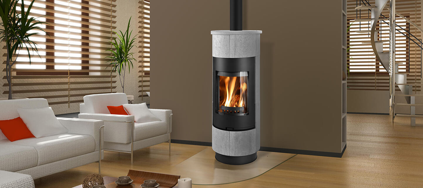 cadiz-serpentino Euro Fireplace