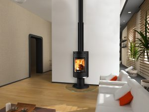 ANDORRA Exclusive interier_Black Euro Fireplace