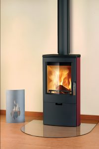 FALUN black_red_sides_RET_shield Euro Fireplaces