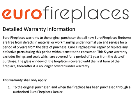 Detailed Warranty Information